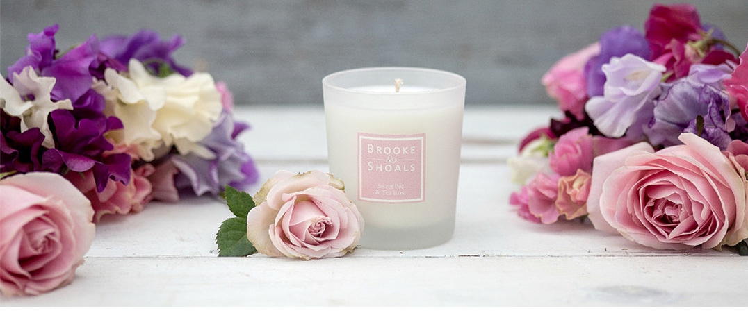 Brooke & Shoals - Sweet Pea & Tea Rose